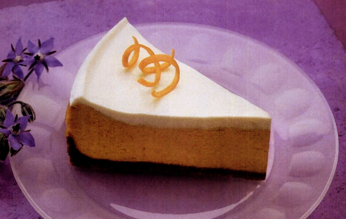 Libby's pumpkin cheesecake recipe (1994)